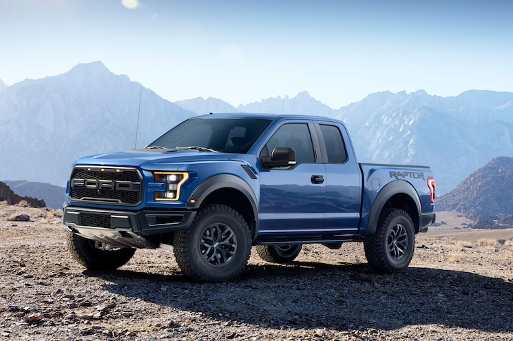 2017 Ford F150 Raptor Left Front Angle