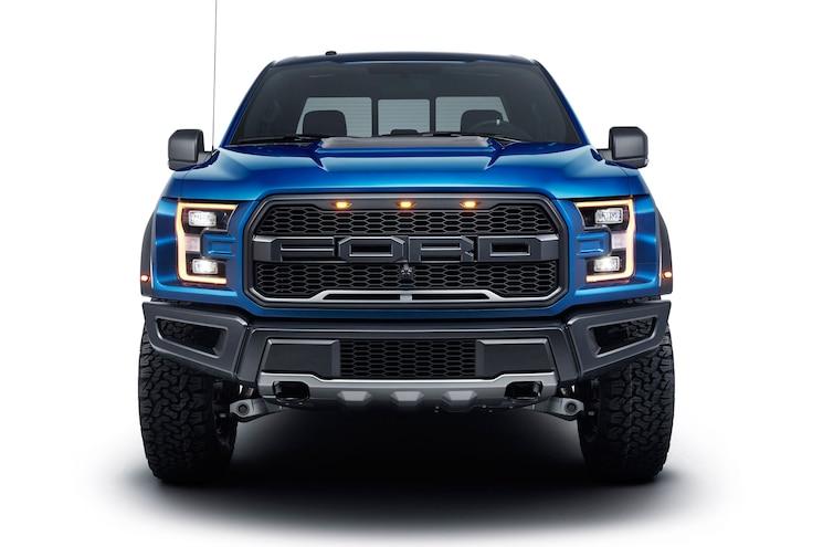 2017 Ford F150 Raptor Front Studio