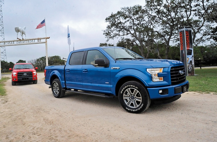 2015 Ford F-150 First Drive - Factory Fresh