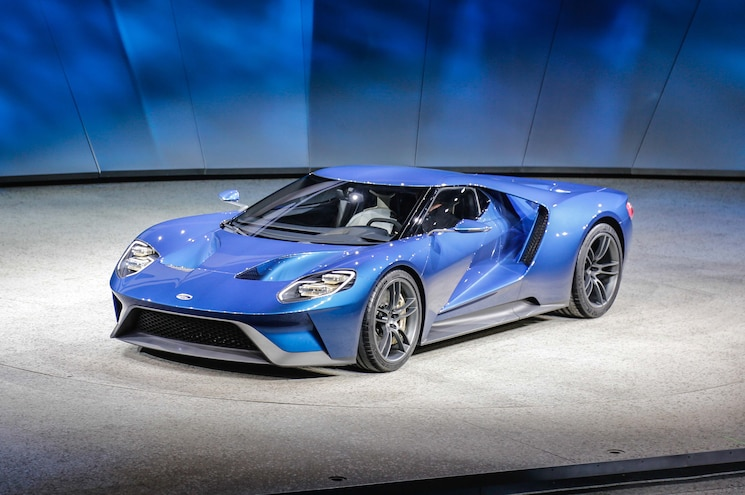 Ford GT in Detroit is Very Real, With 600-Plus HP