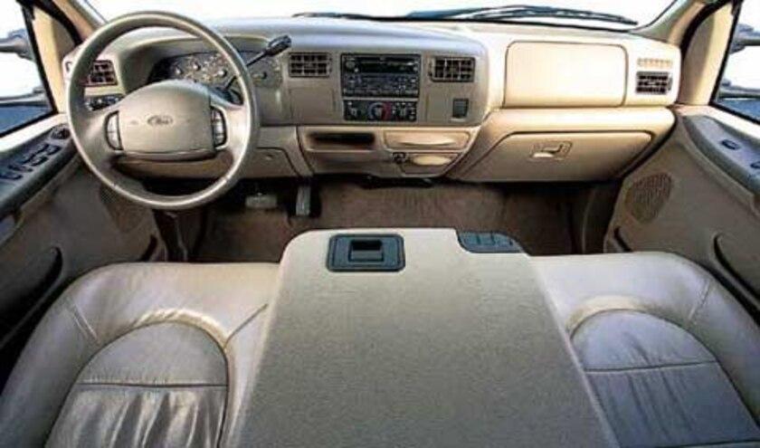 1999 Ford F 350 Super Duty Crew Cab V10 Pickup interior