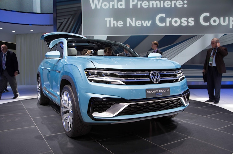 Volkswagen Cross Coupe GTE Concept Front End