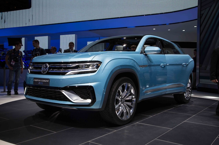 Volkswagen Cross Coupe GTE Concept Shows Elements of New SUV's Styling