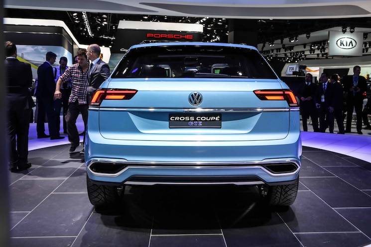 Volkswagen Cross Coupe GTE Concept Rear End