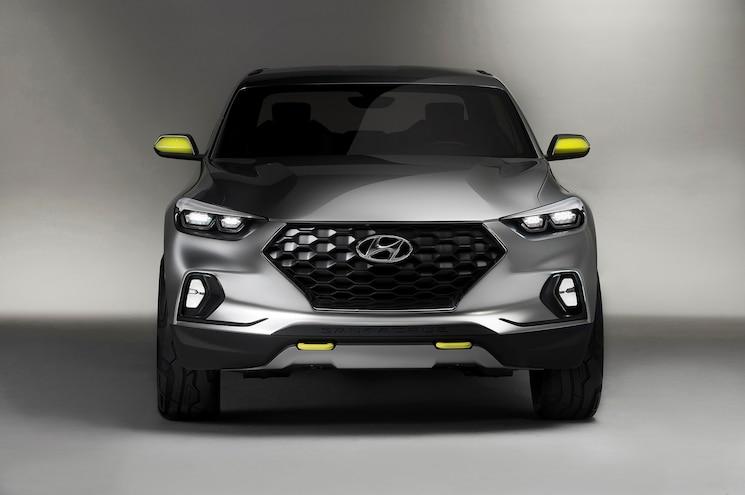 Hyundai Santa Cruz Crossover Truck Concept Front