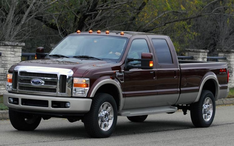 2008 Ford Trucks Features ford F350