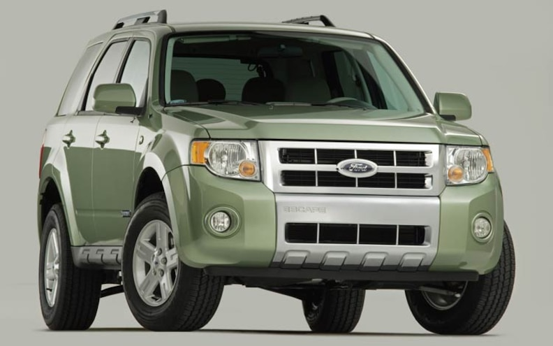 2008 Ford Escape Hybrid front View