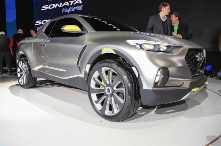 Hyundai Santa Cruz Crossover Truck Concept First Look