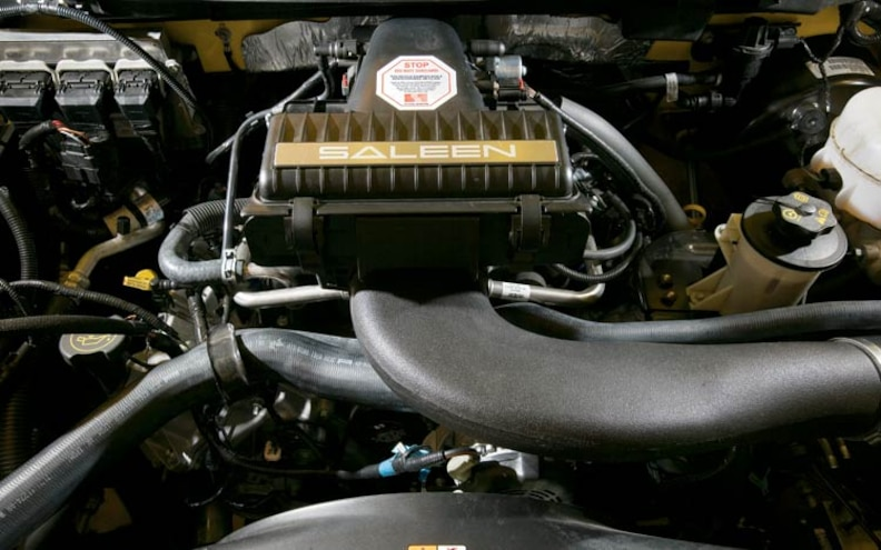 ford Saleen S331 Sport Truck engine View
