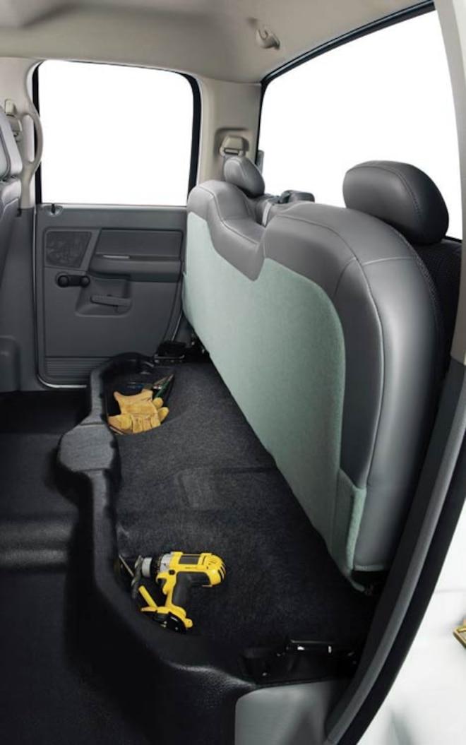 chrysler Sterling Dodge Ram Pickup back Seat View