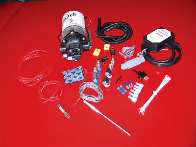 water Methanol Injection Install kit Layout