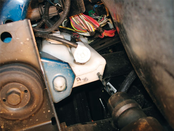 water Methanol Injection Install water Tank