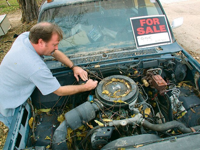 used Diesels engine Leaves
