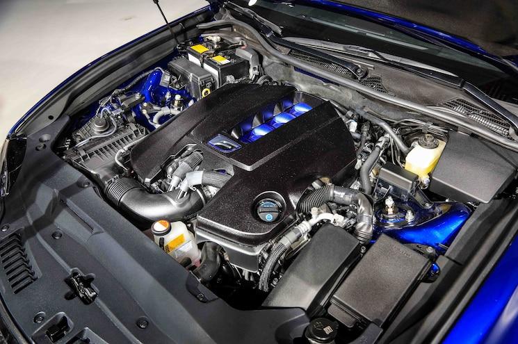 2016 Lexus GS F Engine