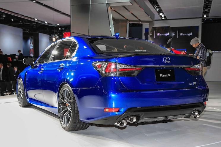 2016 Lexus GS F Rear Three Quarter