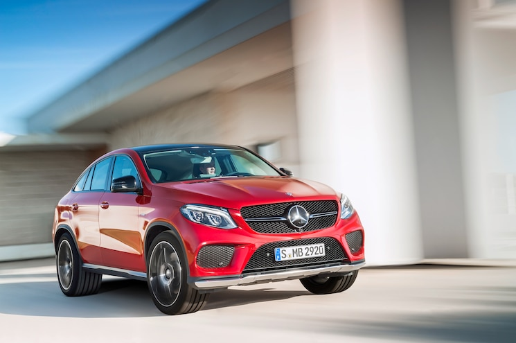 2016 Mercedes-Benz GLE Coupe First Look