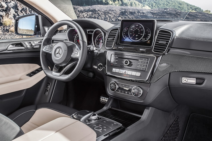 2016 Mercedes Benz GLE 450 AMG 4Matic Coupe Interior 02