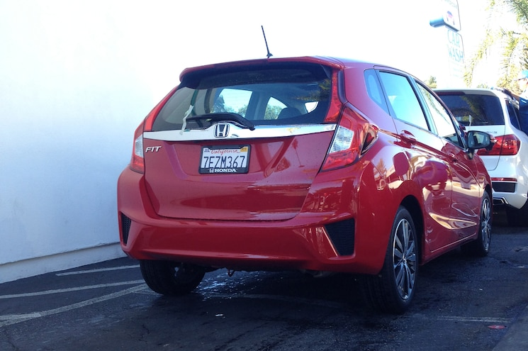 2015 Honda Fit LT At Car Wash
