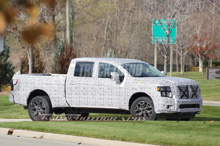 SPIED: Next Nissan Titan Caught on Video Almost Undisguised