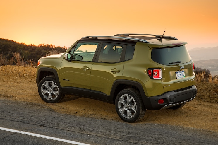 2015 Jeep Renegade Limited Rear Three Quarter