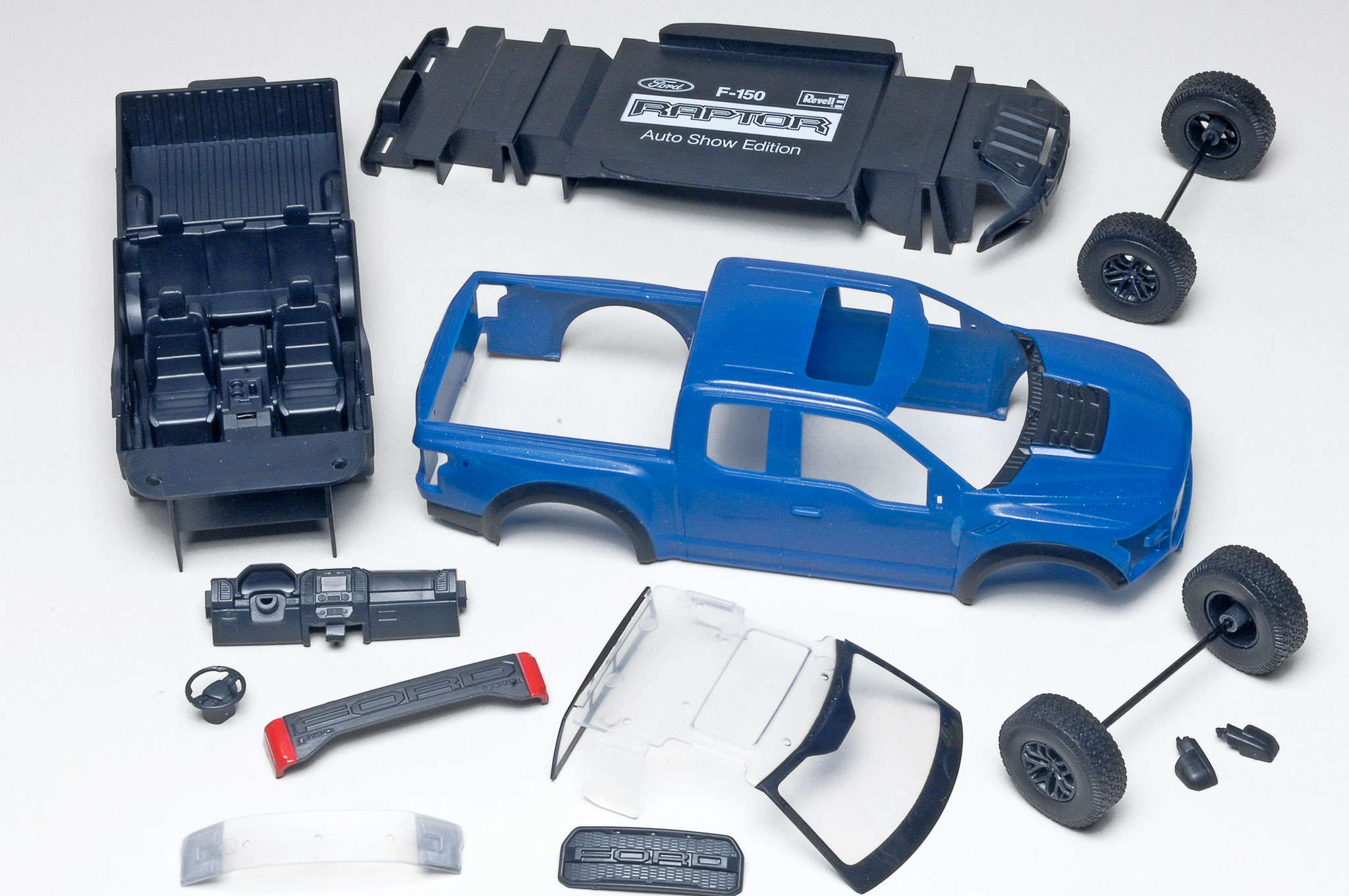 2017 Ford F150 Raptor Revell Model Kit
