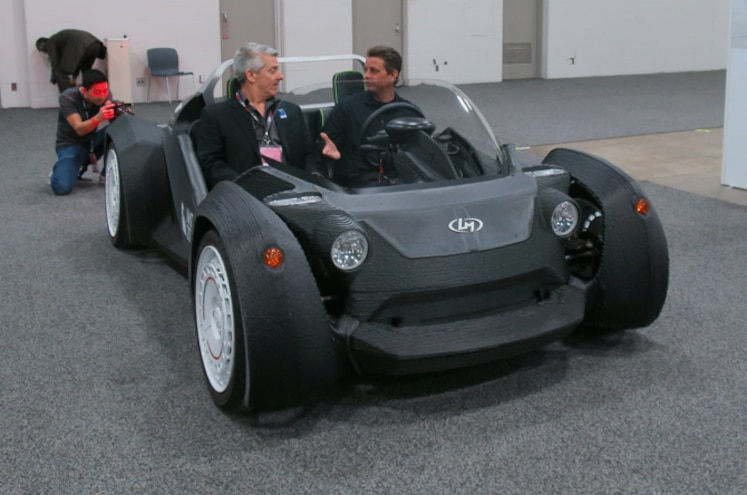 Previewing 3D-Printed Cars at the 2015 Detroit Auto Show
