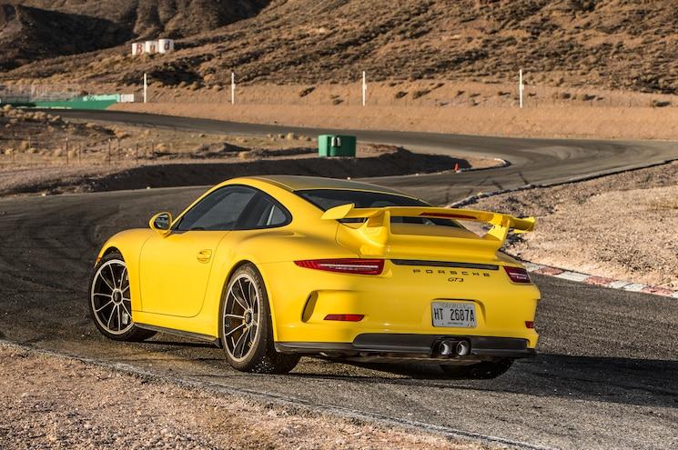 2015 Porsche 911 GT3 Rear Three Quarter