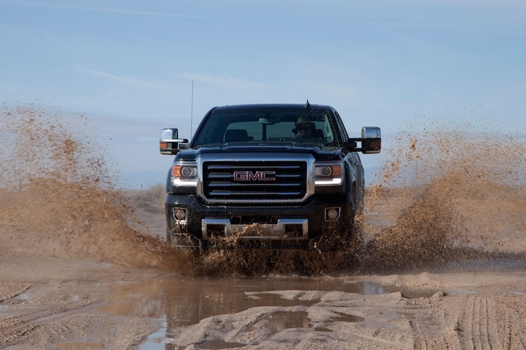 2015 GMC Sierra 2500 Mud