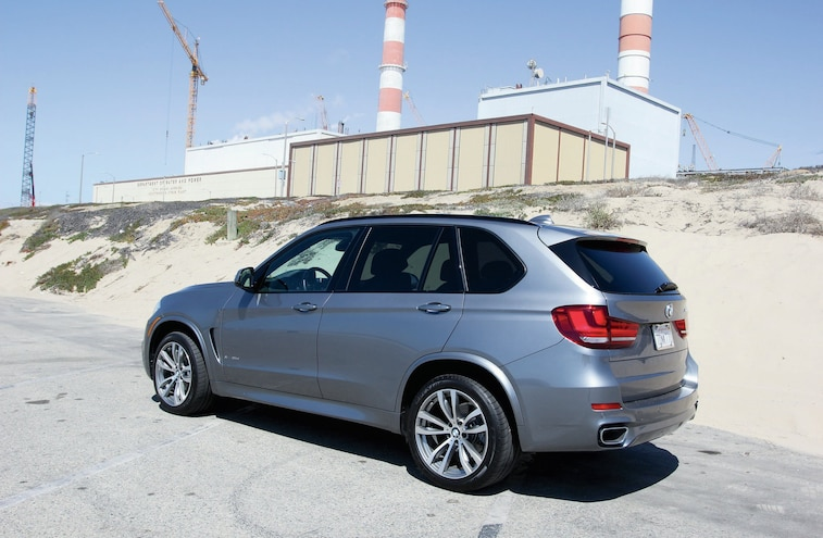 2015 Bmw X5 Xdrive 35d Side Shot