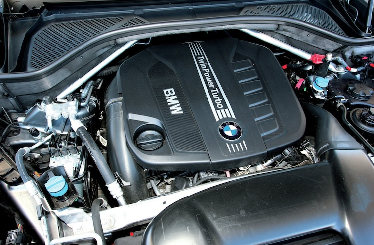 2015 Bmw X5 Xdrive 35d Diesel Engine
