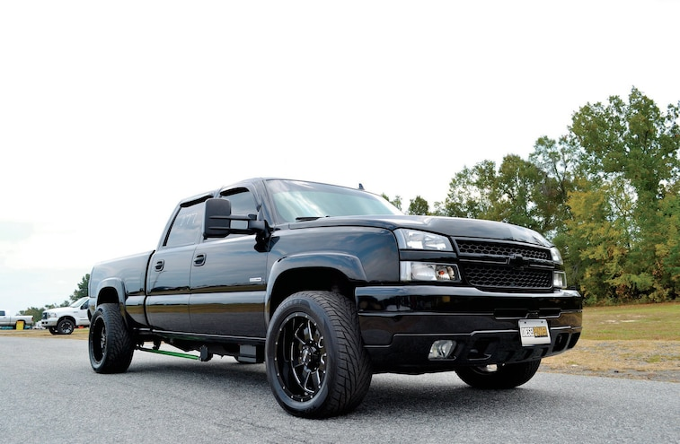 2007 Chevy Silverado 2500HD - Bad In Black