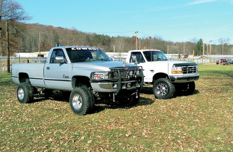 1996 Dodge Ram 2500 And 1997 Ford F 250