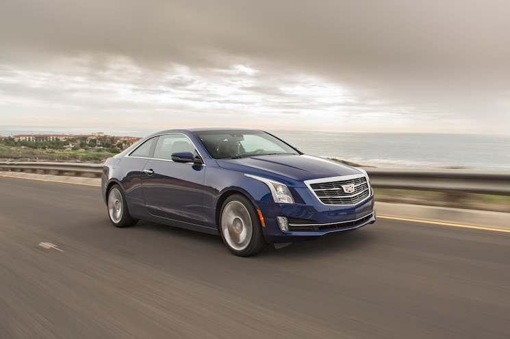 2015 Cadillac ATS Coupe 2.0T Manual First Test