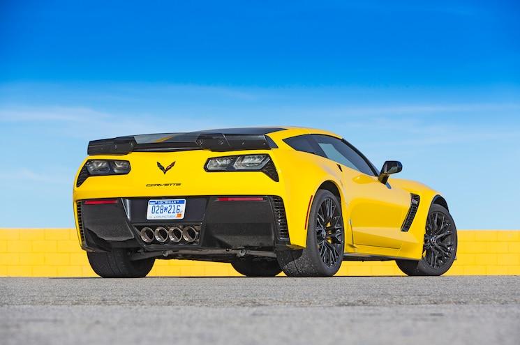 2015 Chevrolet Corvette Z06 Rear Three Quarters