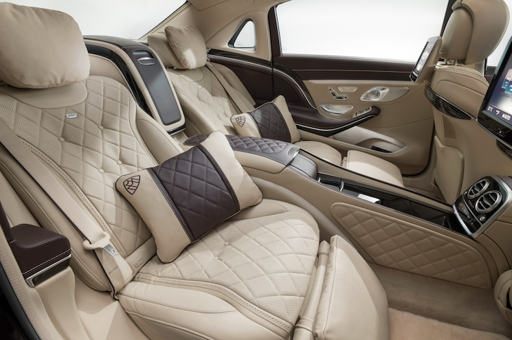 2016 Mercedes Maybach S600 Rear Interior Seats