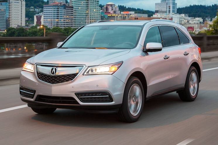 2016 Acura MDX Gets Nine-Speed Auto and New Tech Packages