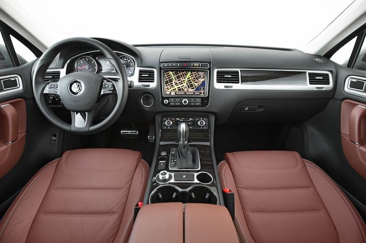 2015 Volkswagen Touareg TDI Inteiror