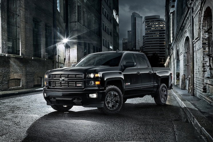 2015 Chevrolet Silverado 1500 Midnight Edition Announced