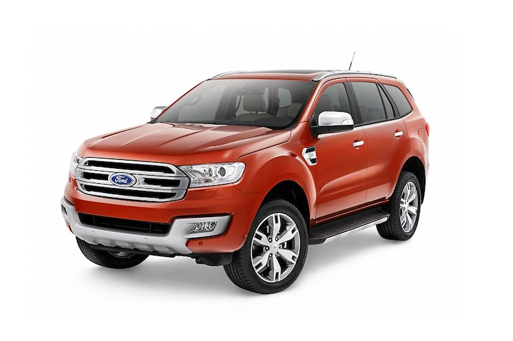 2016 Ford Everest Exterior Front Three Quarter Studio 02