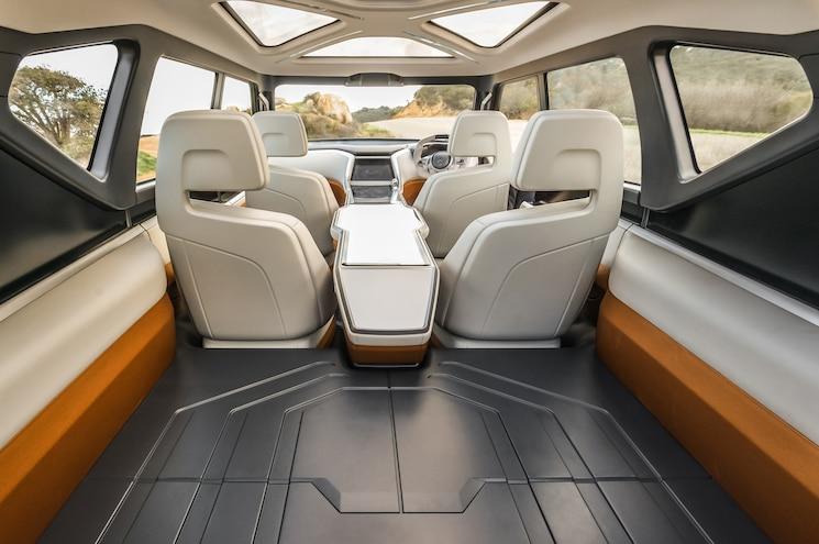 Mitsubishi Concept GC PHEV Rear Interior