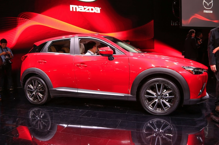 Mazda Reveals All-New CX-3, Updated CX-5 in Los Angeles