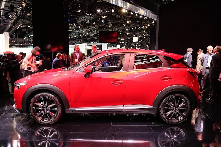 2016 Mazda CX 3 Side Profile