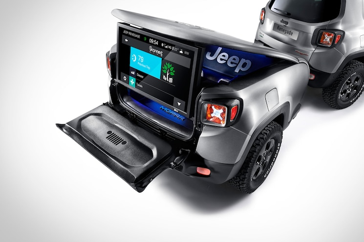 Jeep Renegade Hard Steel Concept Tv Trailer