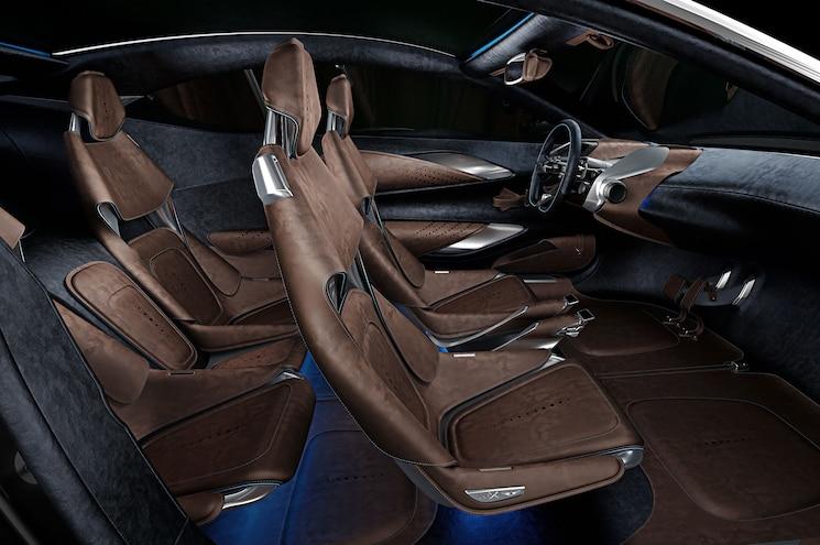 Aston Martin DBX Concept Interior Profile