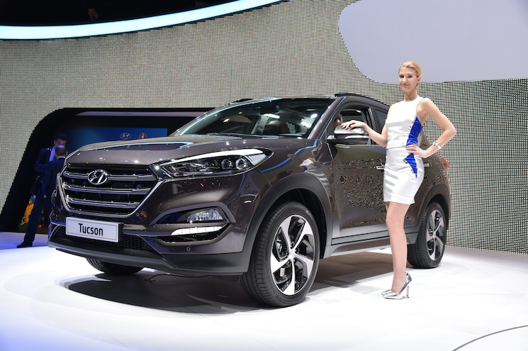 2016 Hyundai Tucson European-Spec First Look