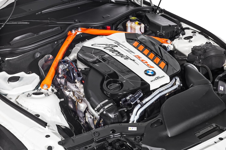 2015 Bmw Z4 Acs 50d Studio Engine
