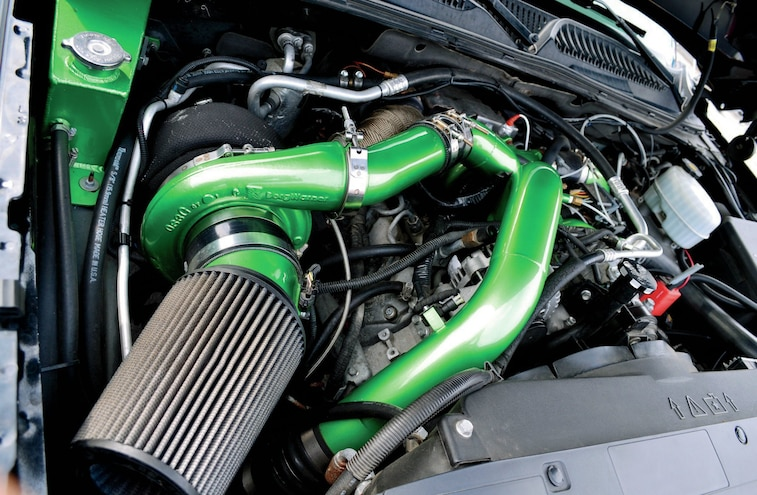 Custom Green Intake Tubing