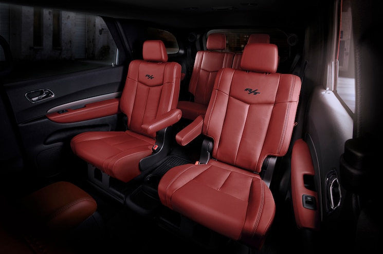 Radar Love: Red Leather Seats Now Available on Dodge Durango R/T