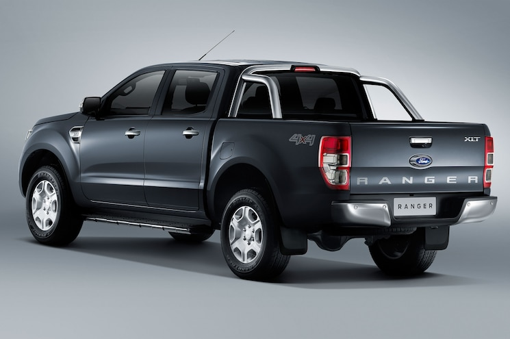 2016 Ford Ranger Rear Angle