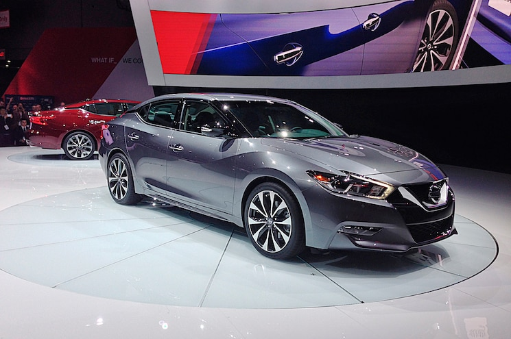 2016 Nissan Maxima First Look